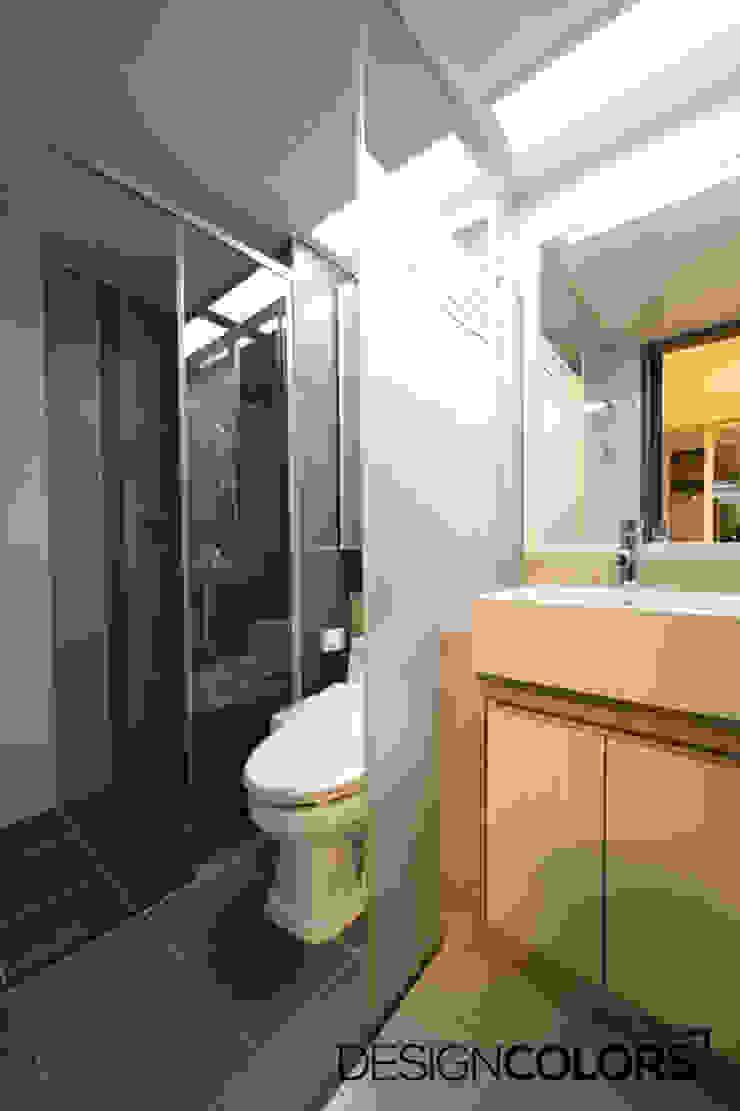 파주시 목동동 해솔마을 삼부르네상스 아파트인테리어 모던스타일 욕실 by DESIGNCOLORS 모던