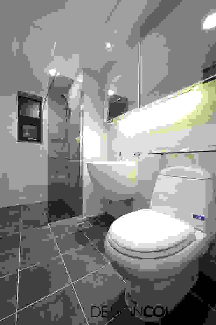 동작구 본동 한신휴플러스 아파트 인테리어 모던스타일 욕실 by DESIGNCOLORS 모던