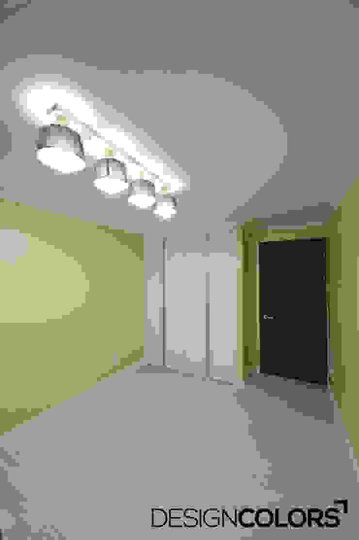 동작구 본동 한신휴플러스 아파트 인테리어 모던스타일 미디어 룸 by DESIGNCOLORS 모던