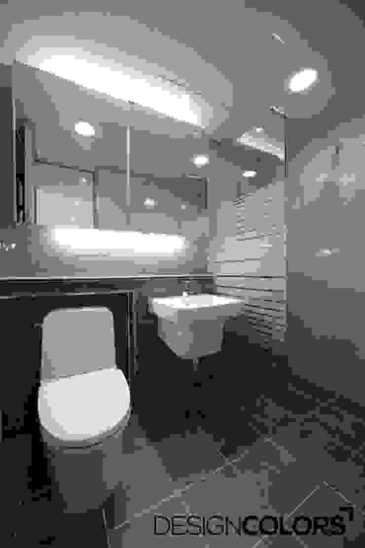 마포구 현석동 강변힐스테이트 아파트인테리어 모던스타일 욕실 by DESIGNCOLORS 모던