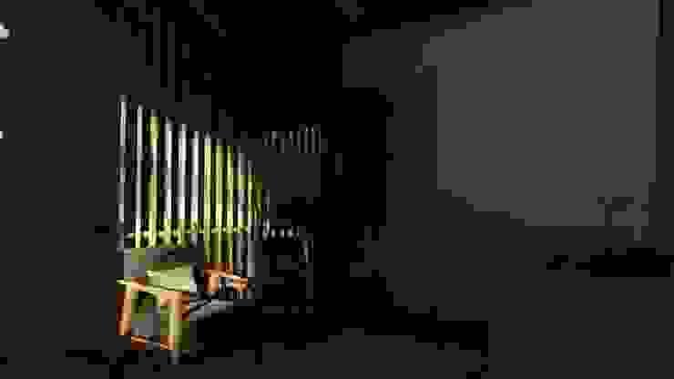 Ruang Keluarga Atas Koridor & Tangga Tropis Oleh alexander and philips Tropis