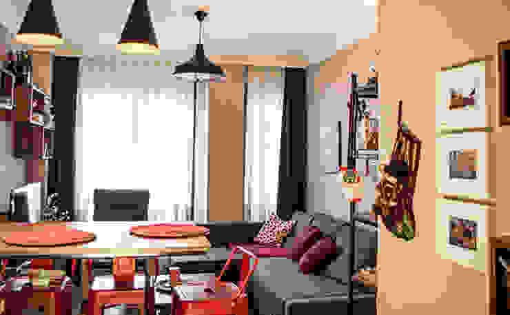 Atölye Teta İç Mimarlık Modern Living Room Red