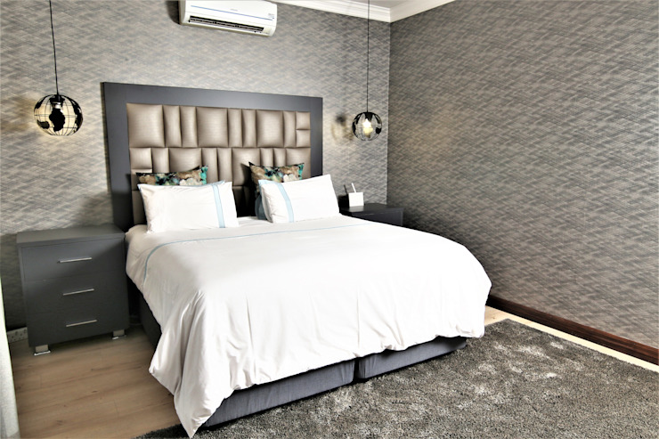 Motama Interiors and Exteriors Modern style bedroom