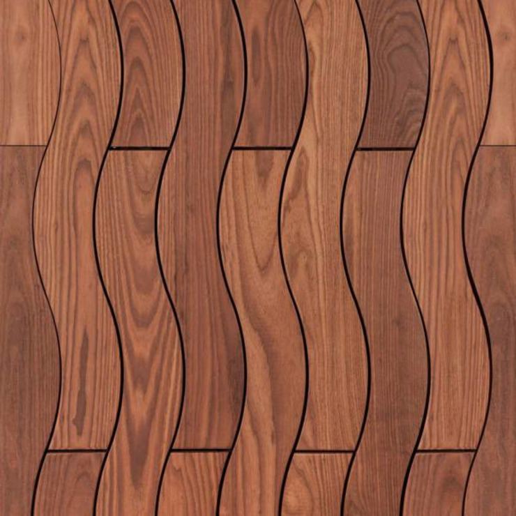 Curly Decking Motama Interiors and Exteriors Walls & flooringWall & floor coverings Solid Wood