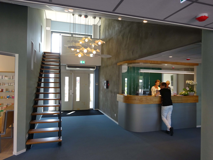 Modern Corridor, Hallway and Staircase by Bob Nisters Modern