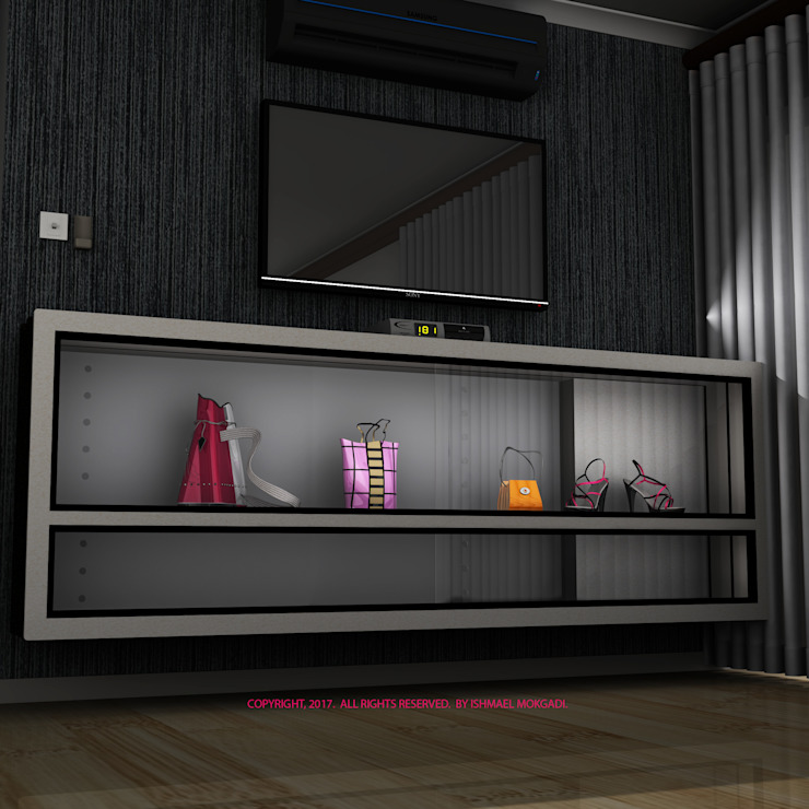 Display Cabinet by Kori Interiors