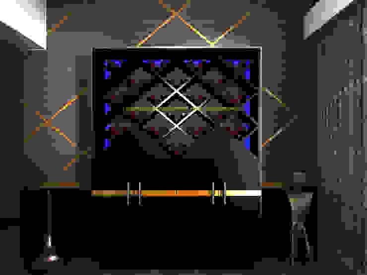 Wine cellar with LED lighting: modern  by Kori Interiors, Modern