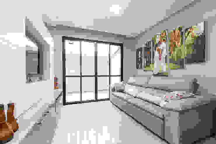 Interiores - Estar, Jantar e cozinha MHC arquitetura Salas de estar modernas
