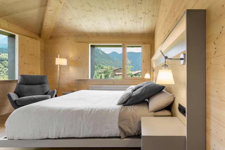 dom arquitectura Modern style bedroom