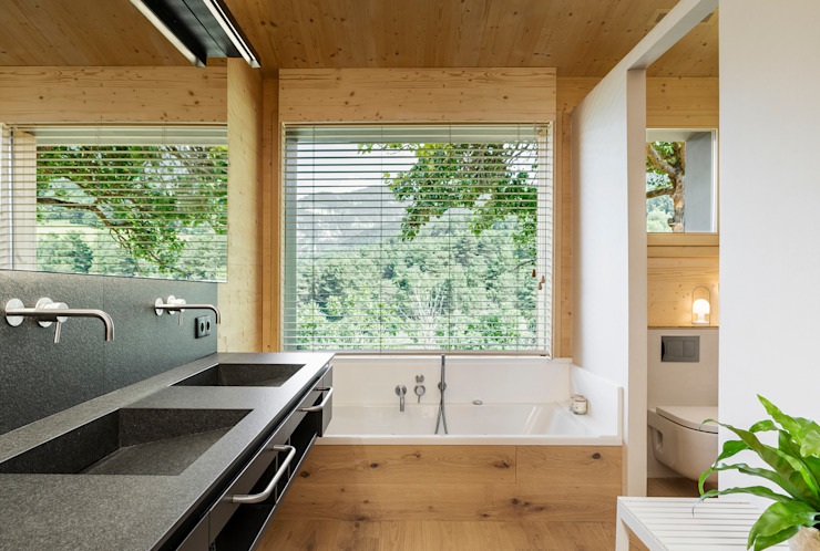 dom arquitectura Modern bathroom