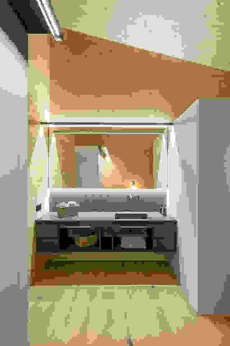 dom arquitectura Moderne Badezimmer