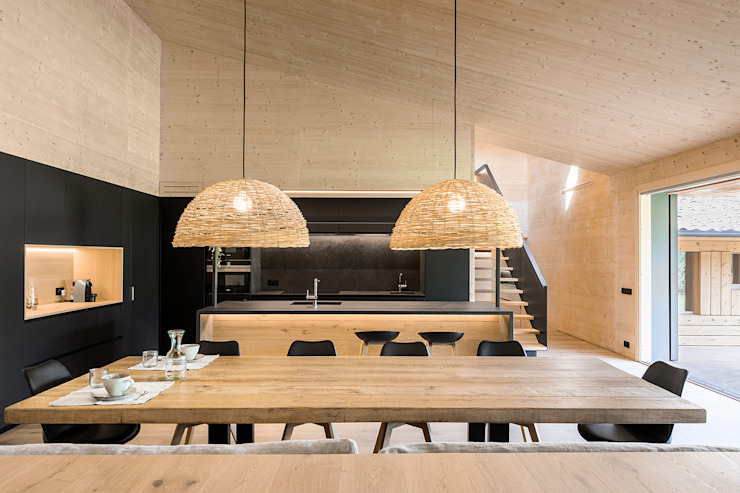 dom arquitectura Modern dining room