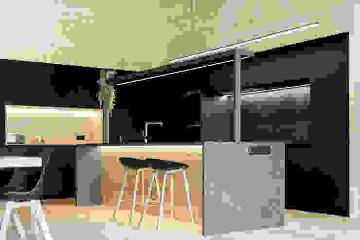dom arquitectura Einbauküche