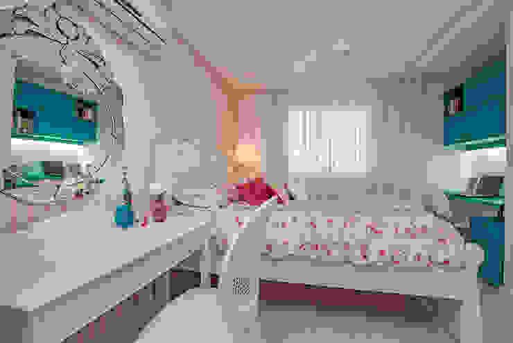 Apto. Cond. Parque das Ilhas - Projeto em Fortaleza RI Arquitetura Quartos das meninas