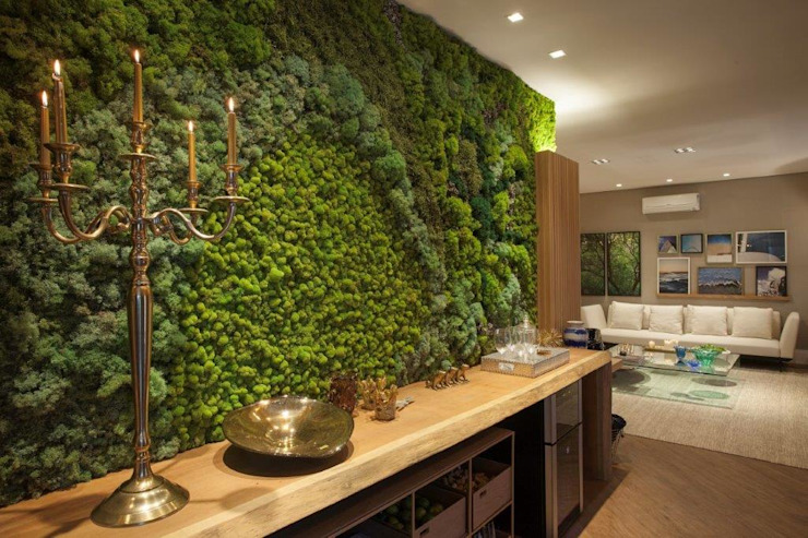 Indoor Moss Wall Vertical Garden - Jardim Vertical e Paisagismo Corporativo Interior landscaping