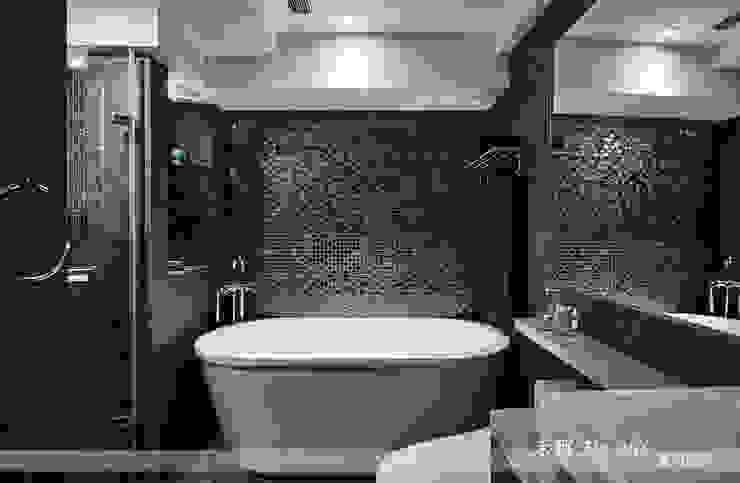 藴育藴意 現代浴室設計點子、靈感&圖片 根據 禾郅 室內設計 現代風