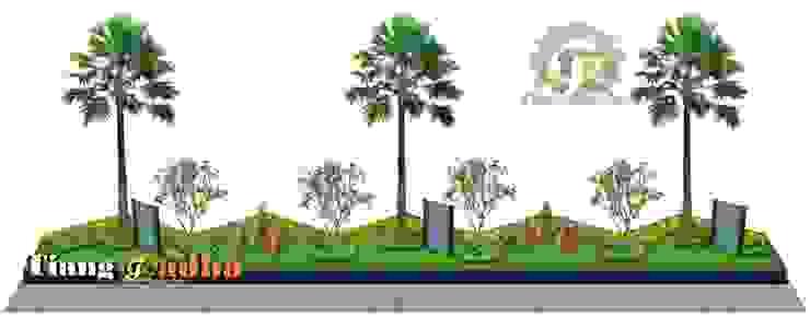 Taman Halaman Depan Pabrik Tukang Taman Surabaya - Tianggadha-art Halaman depan Batu Green