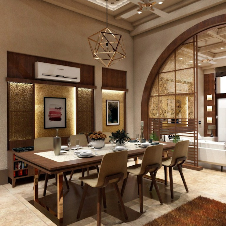 Dining Room Modern Dining Room by Chaukor Studio Modern