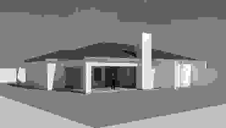 House POLE Modern houses by KGOBISA PROJECTS Modern