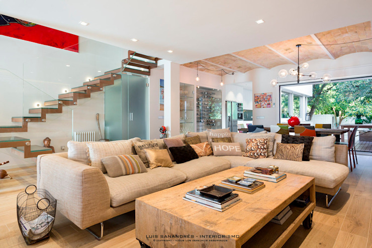 Lyte Iluminacion Modern living room