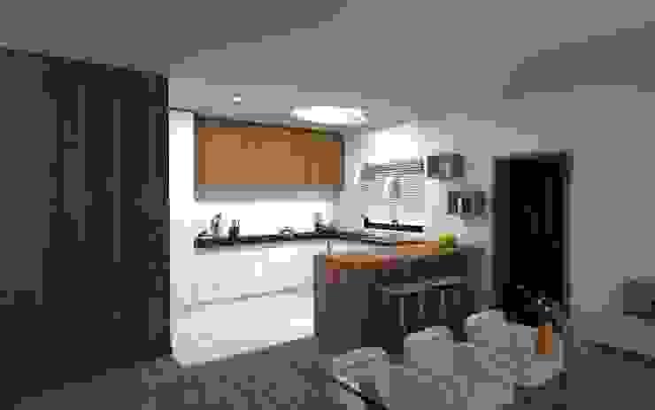 arcq.o | rui costa & simão ferreira arquitectos, Lda. Кухня