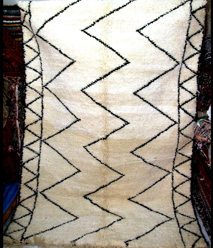 Moroccan Azilal Rug , Berber Azilal Rugs , Beni ourain Rugs by BOHOZOO