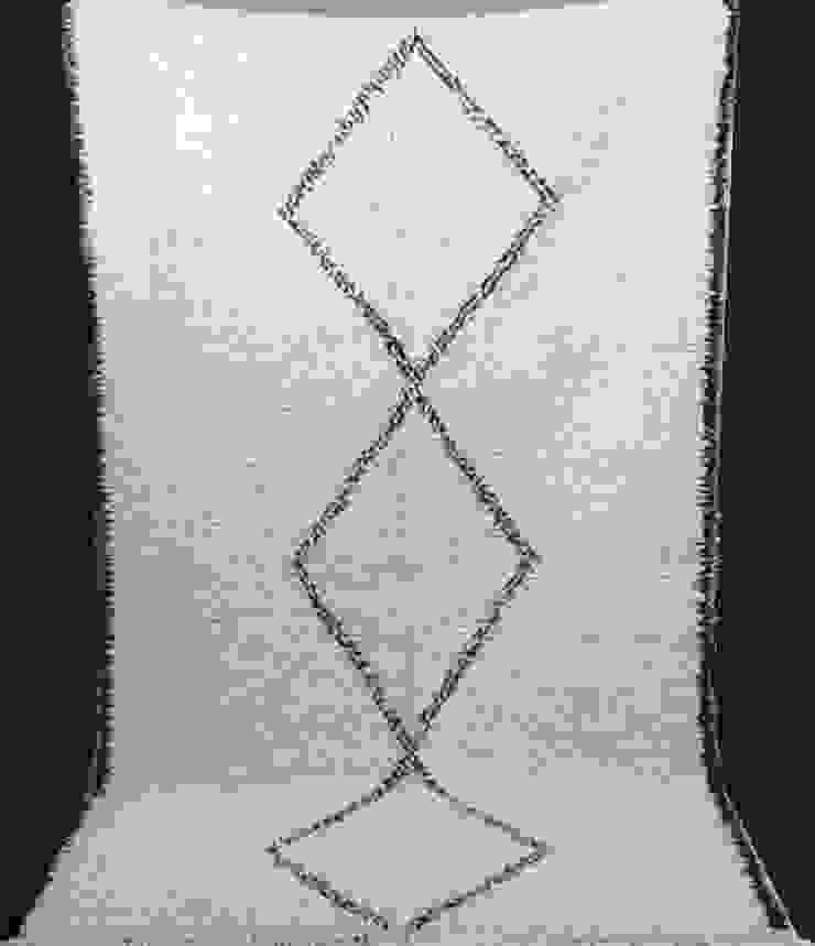Moroccan Azilal Rug , Berber Azilal Rugs , Beni ourain Rugs: scandinavian  by BOHOZOO,Scandinavian Wool Orange