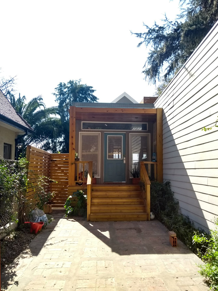 Imagen Exterior Fachada Casas modernas: Ideas, diseños y decoración de 2424 ARQUITECTURA Moderno Madera Acabado en madera