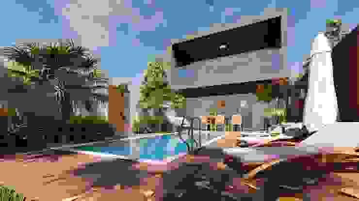 Sobrado Tropical ELLEVVE Arquitetura e Design Casas tropicais