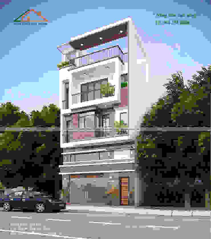 by Công ty CP kiến trúc và xây dựng Eco Home