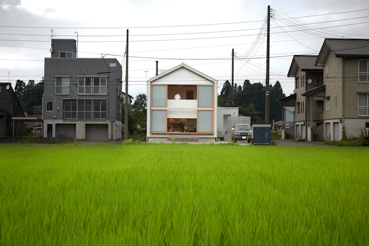 Casas de estilo  por Takeru Shoji Architects.Co.,Ltd,
