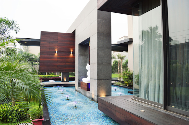 Interior:  Houses by Planet Design and associate,Asian