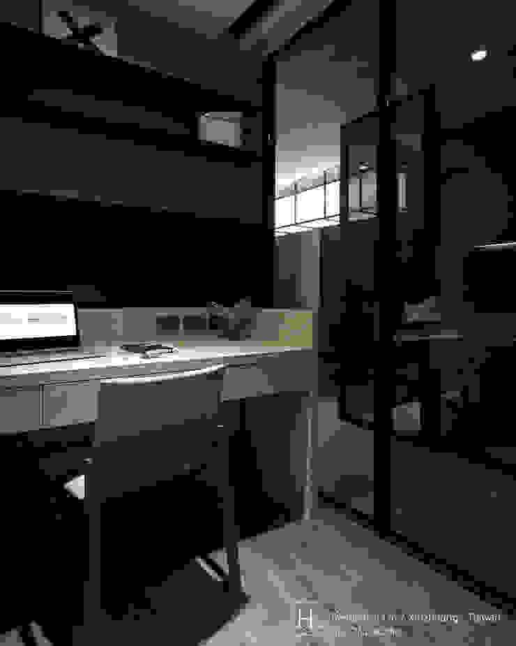 Study room/ 書 房 根據 SECONDstudio 現代風 實木 Multicolored