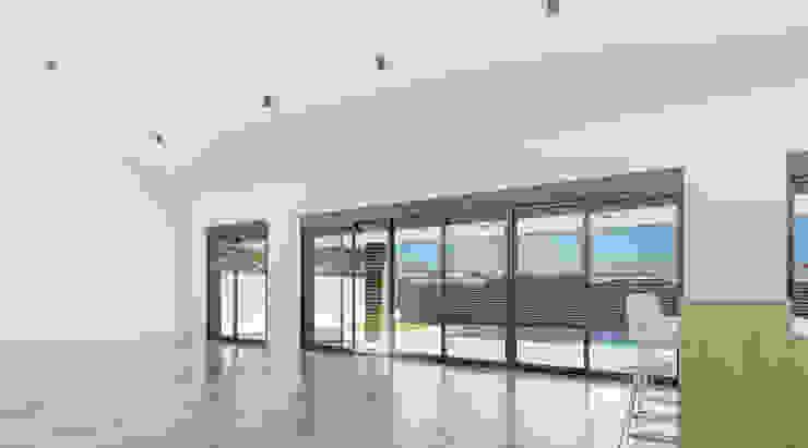 Salón _ vista 1 Salones de estilo moderno de A3D INFOGRAFIA Moderno