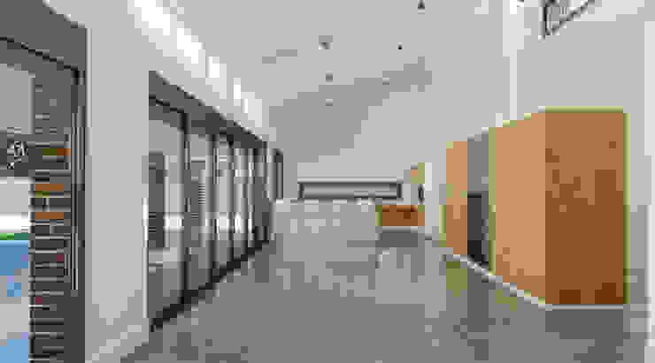 Salón y cocina Salones de estilo moderno de A3D INFOGRAFIA Moderno