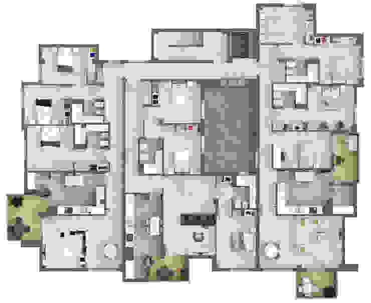 Plano planta 3ª de A3D INFOGRAFIA