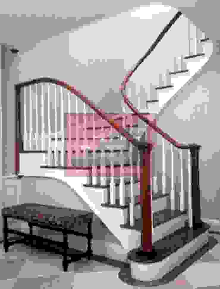 RST AHŞAP Corridor, hallway & stairs Stairs
