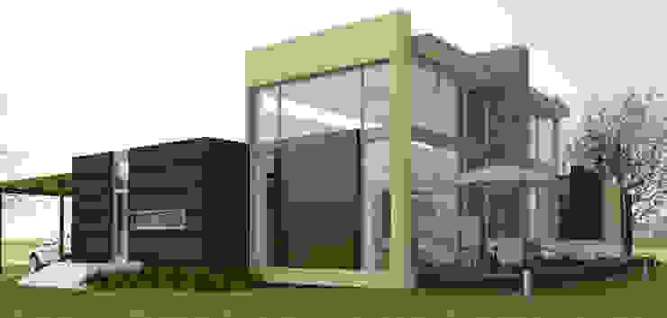 Vivienda campestre Casas de estilo minimalista de IAA LTDA Minimalista