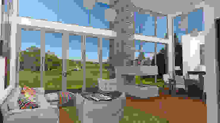 Vivienda Campestre Interior Salas de estilo minimalista de IAA LTDA Minimalista