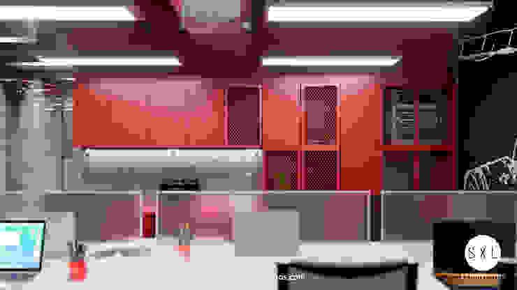 by SXL ARQUITECTOS Modern Chipboard