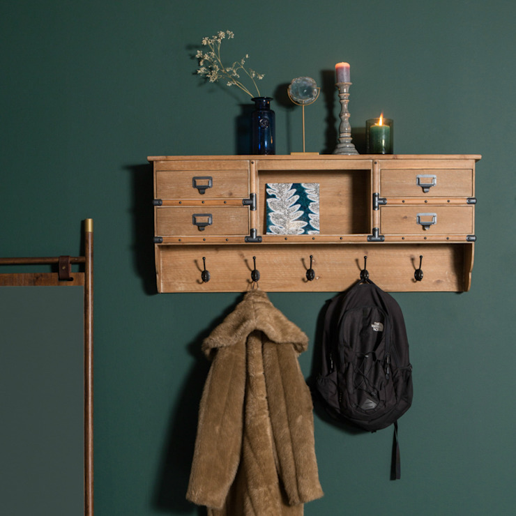 Amador Coat Rack: scandinavian  by Accessories for the Home , Scandinavian Wood Wood effect