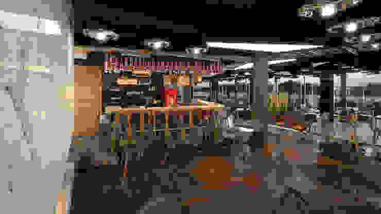 Modern dining room by Dündar Design - Mimari Görselleştirme Modern