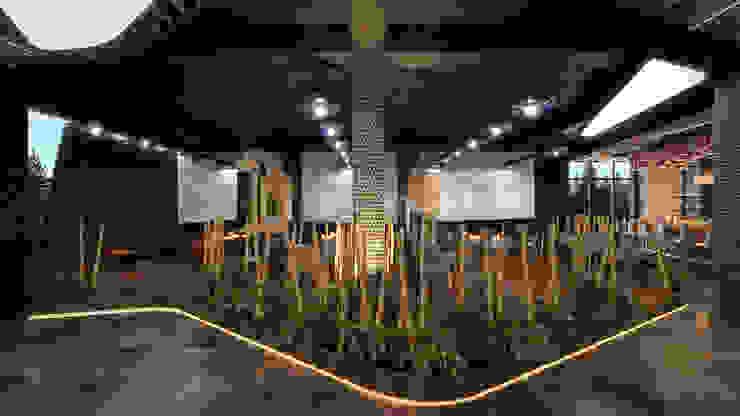 Comedores de estilo moderno de Dündar Design - Mimari Görselleştirme Moderno