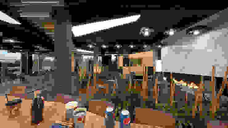 Salle à manger moderne par Dündar Design - Mimari Görselleştirme Moderne
