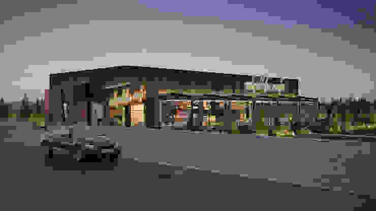 Dündar Design - Mimari Görselleştirme Ruang Makan Modern