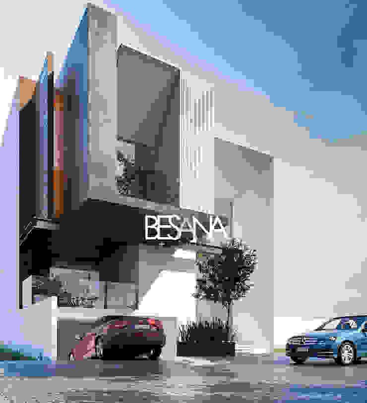 Besana Studio Minimalist houses