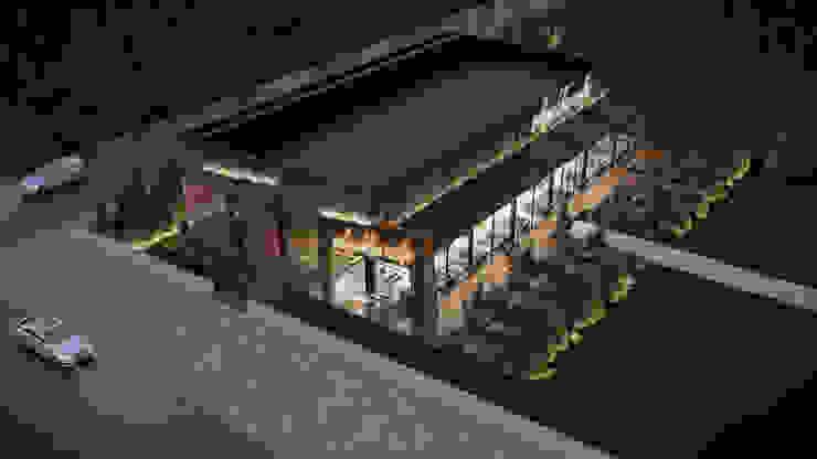 Dündar Design - Mimari Görselleştirme Moderne Esszimmer