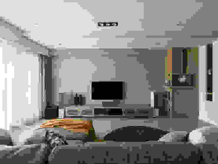 電視牆設計 根據 存果空間設計有限公司 北歐風