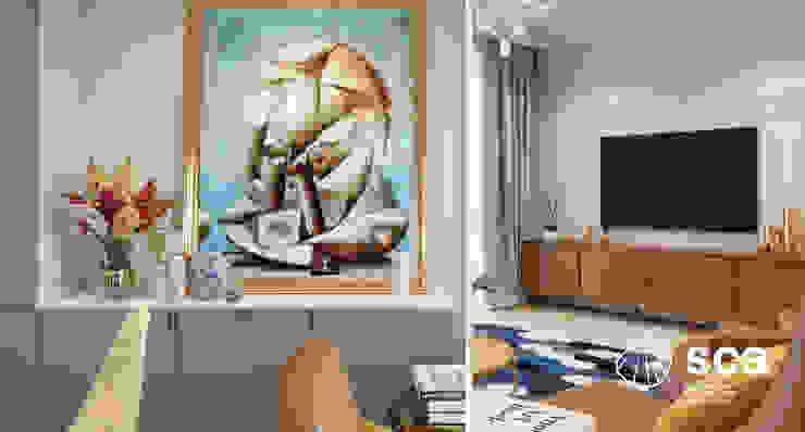Căn hộ HDI: scandinavian  by Công ty cổ phần kiến trúc Đa dụng (SCA.,JSC), Bắc Âu