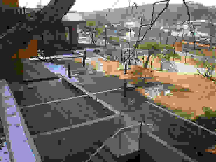 외부 마당 전경 by 위 종합건축사사무소